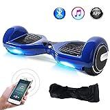Windgoo Hoverboard Gyropode Bluetooth 6,5 Pouces,Smart Scooter Overboard APP Moteur 700W Self Balance Board Auto-équilibrage avec LED pour Enfants et Adultes