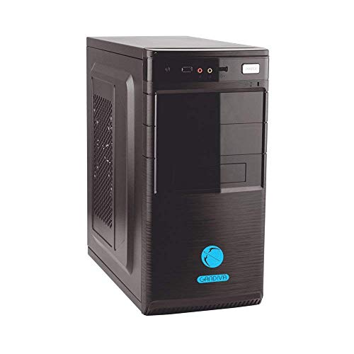 Core I5 Processor, H55 Motherboard, 8GB DDR3 RAM, 2TB SATA HDD, with Out DVD Drive & 2GB Graphics Card, Gandiva Assembled Desktop