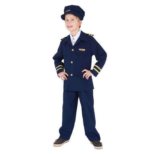 (Kinder-Kostüm Flugkapitän, Gr. 152)