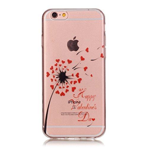 YAKING® Apple iPhone 6 Plus/6S Plus Coque Silicone TPU Case Cover Gel Étui Housse pour Apple iPhone 6 Plus/6S Plus P-2