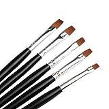 RY@ 5 PCS Nail Art Polish Painting Brushes - Best Reviews Guide