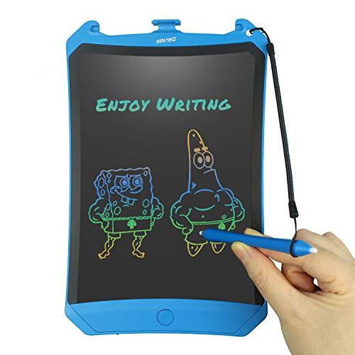 ablet Kinder Tablet Digital Zeichentafel - Bildschirm Sperren - DREI-Farbe-Schrift 8,5 Zoll - Blau ()