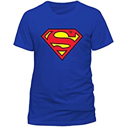 Camiseta Azul Superman