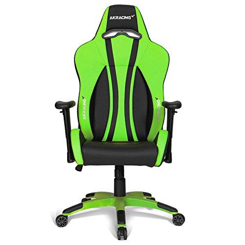 Plus Stuhl Premium Computer für Gaming AKRACING grün m8nywvN0O