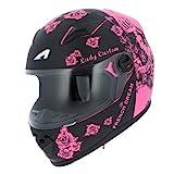 Astone Helmets - Casque moto fille GT2 kid - Casque de moto homologué pour enfant -...