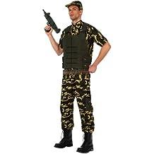 Atosa - Disfraz militar soldado camuflaje, M-L (10304)