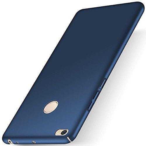 """XMT Xiaomi Mi Max 2 6.44"""" Funda,Calidad Premium Cubierta Delgado Caso de PC Hard Gel Funda Protective Case Cover para Xiaomi Mi Max 2 Smartphone (Azul)"""