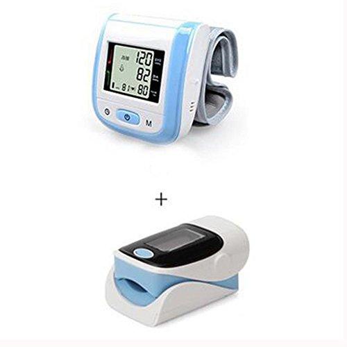 LPY-Automatisches Blutdruckmessgerät für Handgelenk+Finger-Pulsoximeter (Ein Satz) , A4