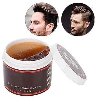 Cera Para El Cabello Para Hombres – 100g De Aceite Para Cabello Profesional Retro/Lodo Para El Cabello Esponjoso – Para Peinado