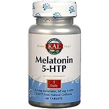 Melatonin con 5-Htp Accion Retardada 60 comprimidos de 1,9 mg de Solaray