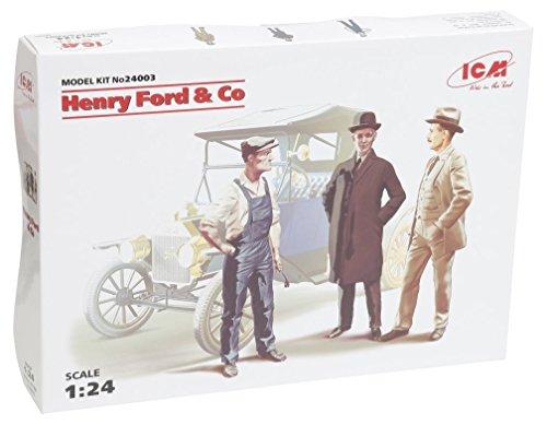Preisvergleich Produktbild ICM 24003 - 1/24 Figuren Henry Ford Co