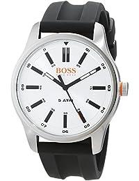 Hugo Boss Orange Homme Analogique Classique Quartz Montres bracelet avec bracelet en Cuir - 1550043