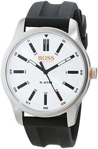 dcf015070b13 Hugo Boss Orange Reloj Análogo clásico para Hombre de Cuarzo con Correa en  Cuero 1550043