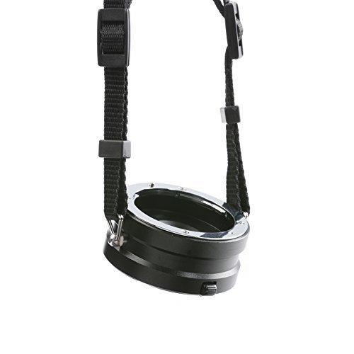 Movo laccio girevole per sostituzione rapida degli obiettivi multipli, per obiettivi fotocamere mirrorless con supporto da Sony NEX E-Mount