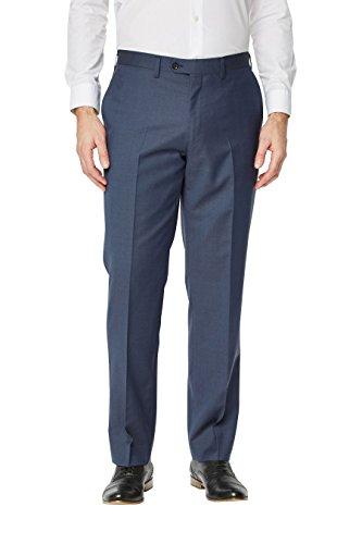 next Pantalon de costume Signature en crêpe Standard Homme Bleu