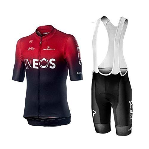 WOLFIRE WF Traje de Ciclismo para Hombre de Equipos. Culotte y Maillot....