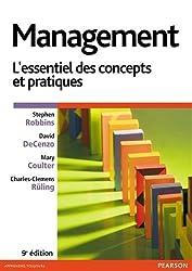 Management 9e édition : L'essentiel des concepts et pratiques