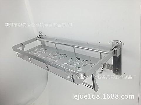 Sdkky activités de l'espace d'aluminium Flat Panel Mount Serviette de bain Rack Porte-serviettes les plus Hot de bain Cintre