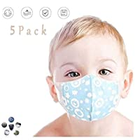 Baby 0-3 Years Old Gauze Breathable, Comfortable, Cartoon Pattern, Material Special Cotton 3-8 Years Old Parent-Child Children-1 Pack (Color : Boy, Size : 3-8 years old)
