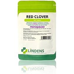 Lindens Rotklee 1000 mg Tabletten | 360 Verpackung | Rotklee (Trifolium Pratense) -Extrakt, entspricht 1000 mg getrockneten Blumen pro Tablette. Beliebt bei Frauen in und nach den Wechseljahren