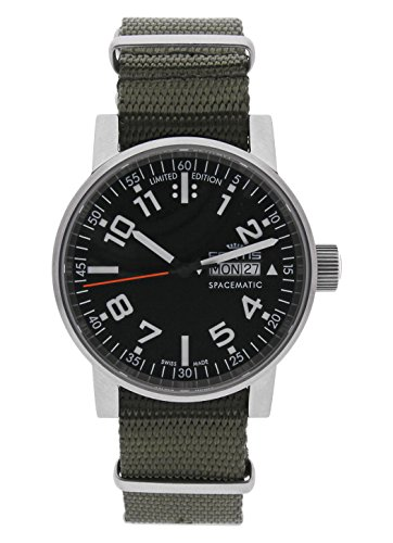 Fortis Herren-Armbanduhr Spacematic Pilot Professional Day/Date -Limited Edition- Datum Wochentag Analog Automatik 623.10.41 N.11 (Luxus-uhren, Limited Edition)