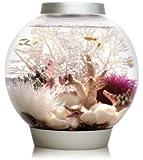biOrb Baby Aquarium, 15 Litre, 30 x 32 cm, Silver, LED light
