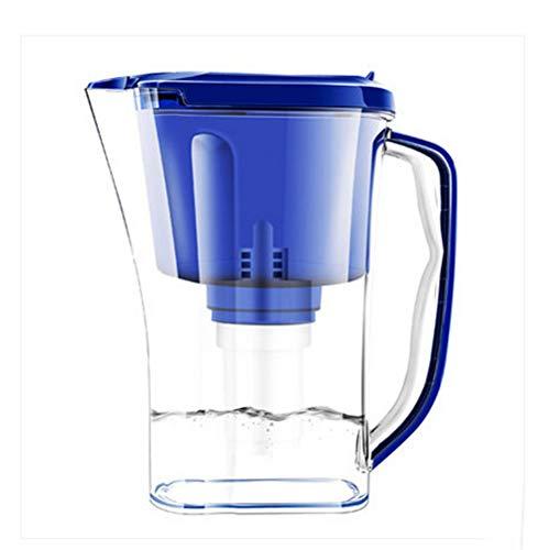 Gaone Alkalischer Wasserfilter-Krug Alkalischer Wasserfilter-Krug durch belebten Wasser-Wasserspender und Filter-Aktivkohlewasserfilter Countertop-Wasserfilter-Reinigungsapparat-Maschine - Alkalische Wasser-tropfen