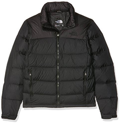North Face M Nuptse 2 Eu, Giacca Uomo, Nero (Tnf Black), XL