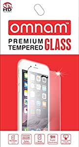 Omnam Premium Tempered Glass Screen Protector for Samsung S5
