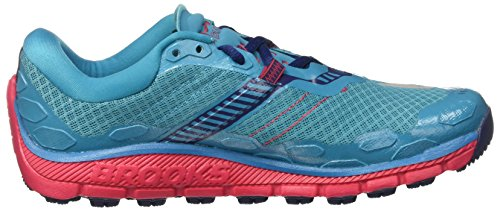 Brooks Damen PureGrit 5 Laufschuhe Türkis (Peacock Blue/virtual Pink/patriot Blue)