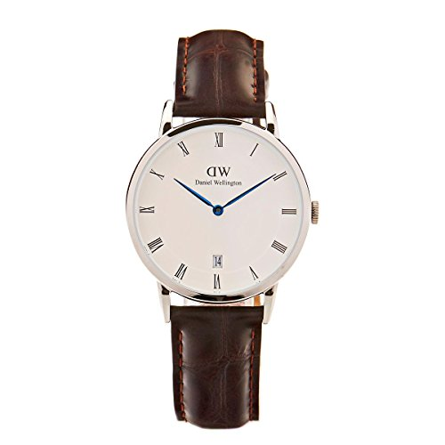 Daniel Wellington Women Analogue Quartz Watch with Leather Strap DW00100097