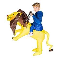 Idea Regalo - Costume Gonfiabile Leone Per Bambini