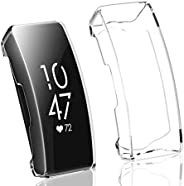 Offer Max 1 Pack Compatible with Fitbit Charge 3 Screen Protector,Soft Slim Full-Around Protective Charge 3 Ca
