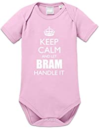 Body bebé Keep Calm And Let BRAM Handle It by Shirtcity
