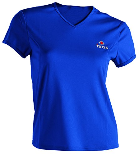 Izas Adaia - Camiseta para mujer, color azul, talla M