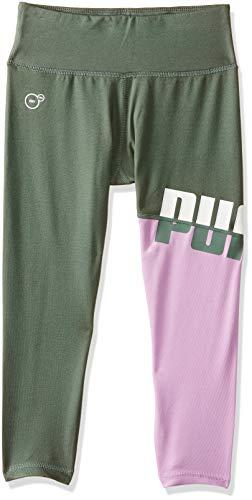 Puma Mädchen A.C.E. Leggings G Hose, Laurel Wreath, 140 EU