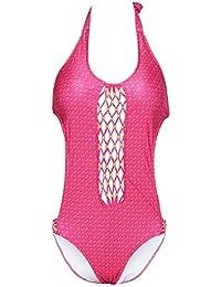 Vovotrade Traje de Baño de Una Pieza Push Up Acolchada Bikini