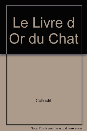 LIVRE D OR DU CHAT