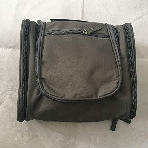 Trousse de toilette de voyage cosmétique ultra-large avec sac de rangement pour sac à main pour boîte de maquillage (Color : Black)