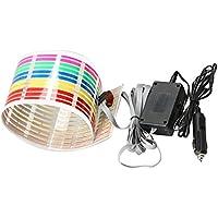YouN Car Music Rhythm Lamp Car Decoration Light LED Sound Activated Equalizer