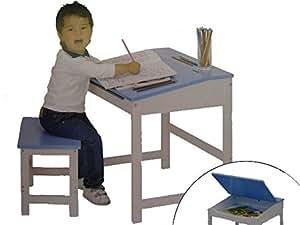 kinder schreibtisch hocker maltisch kinderm bel jungen spielzeug. Black Bedroom Furniture Sets. Home Design Ideas