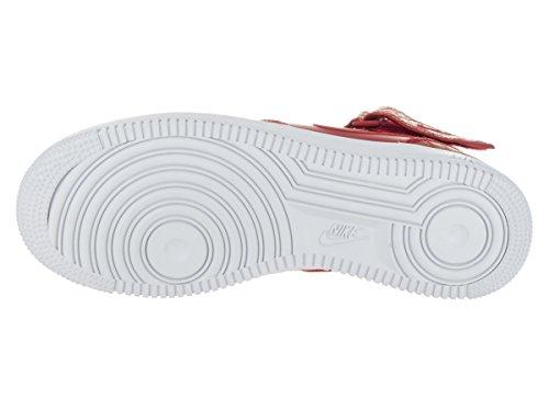 Nike Air Force 1 Mid '07 Lv8 Herren Basketballschuhe Rojo (Gym Red / Gym Red-White)