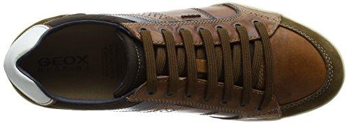 Geox Herren U Kristof A Low-Top Braun (browncotto/brownc0235)