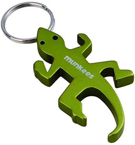 munkees Schlüsselanhänger, Flaschenöffner Eidechse, Lizard, 3411