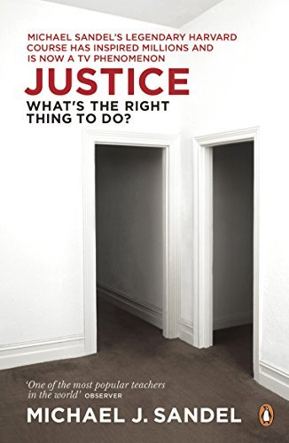 Justice: What's the Right Thing to Do? by Michael J. Sandel (2010-06-01)