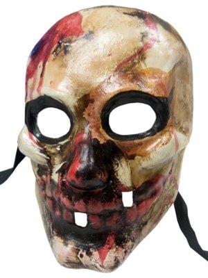 Top Qualität Handarbeit SCARLATTI Bloody Zombie Monster Halloween Horror Full Face venezianische Masken