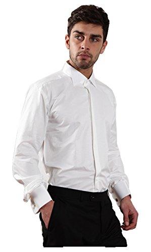 DANISSIMO -  Camicia da cerimonia  - Uomo Bianco