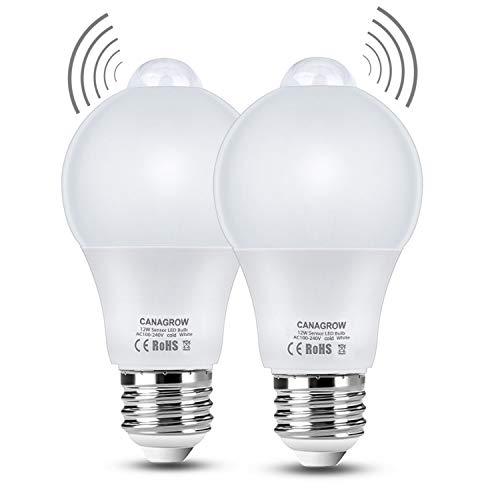 CANAGROW 12 W Bewegungsmelder Lampe, cool white, 12 Watts 12.00watts