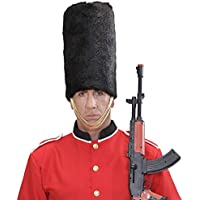 WIDMANN Sombrero de guardia real de peluche, color negro, talla única. Código: