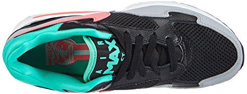 Nike - Air Max ST, Sneaker basse Donna Nero (Schwarz (Black/Hot Lava-Menta-Wolf Grey))
